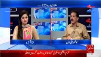 Pakistan At 7 - 6th May 2015 by Shazia Khan on Wednesday at Ajj News TV