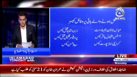 Islamabad Tonight 18th May 2015 by Rehman Azhar on Monday at Ajj News TV