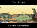 Two Frogs Funny Animation