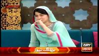Sanam Baloch Cried In Live Show