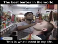 A Foreigner Try Local Hairdresser Massage