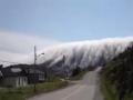 Fog Rolling Over Long Range Mountains in Lark Harbour