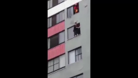 A Fireman Save Woman To Commit Suicide