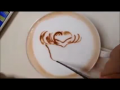 Colourful Latte Art