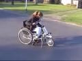 A Wheelchair Bike