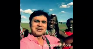 Desi Dubsmash in Africa - Attaullah Khan songs