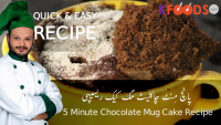 How To Make Mug Chocolate Cake In Just Five Minutes