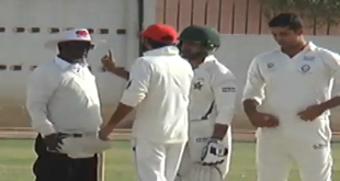 Fawad Alam Biggest Fight With Umpire In On Going Tournment