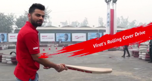 Virat Kohli Shows Off His Rolling Cover-Drive Skills