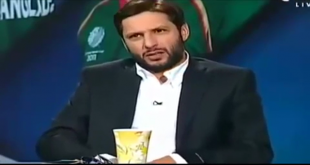 Shahid Afridi Got Angry On Ahmed Shahzad Question