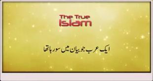 Very Funny Story Of An Arab Who Was Sleeping In Bayan By Maulana Tariq Jameel