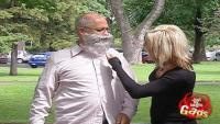 Burning Beard Man