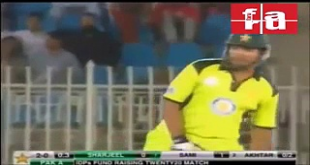 Shoaib Akhtar Bowling After Long Time