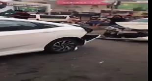 What Happened After Accident Of New Honda Civic In Lahore