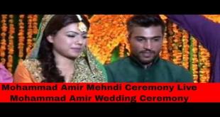 Mohammad Amir Mehndi Ceremony