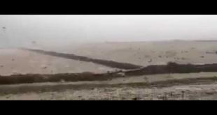 Subhan Allah! Raining With Stone Falling In Turkey