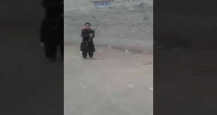 Check What This Child Doing - It Is Risky