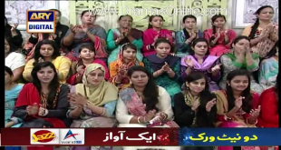Arshad Khan Cat Walk In Live Morning Show