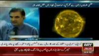 Massive solar storm hits Earth