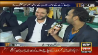 What Shahid Afridi Says To Waseem Badami About Karachi Kings