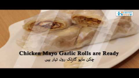 Mayo Garlic Roll