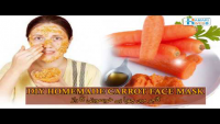 DIY Homemade Carrot Face Mask