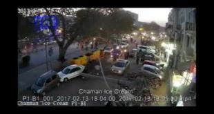 Lahore Khudkash Hamla Awar Aur Us Kai Sathi Ki CCTV Footage