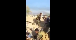 Afghan Army Solider Get Hit By Pak Army Solider