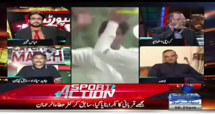 Fight Between Aamir Sohail & Basit Ali In Live Show
