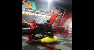 Guy Breaks Leg While Lifting Too Much Weights