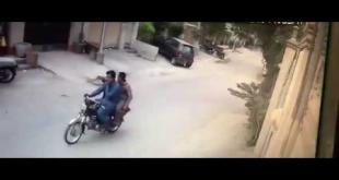 Dekheay Is Driver Ne Motor Cycle Pe Sawar Daketoon Kai Sath Kya Kia