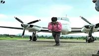 Man Pulls Plane With Teeth