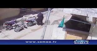CCTV Footage Of Bike Stealing In Karachi