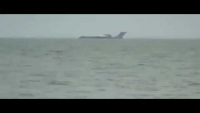 OMG! Plane Landing On The Sea