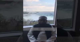 Two Minutes Message From Niagra Falls By Maulana Tariq Jameel