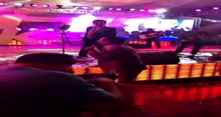Younis Khan Showing His Singing Skills