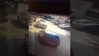 CCTV Footage Of 3 Dacoits In Mehran Car