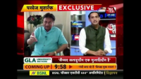 Pervez Musharraf Mouth Breaking Reply To Indian Anchor