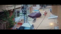 CCTV Footage Of Street Crime In Model Colony