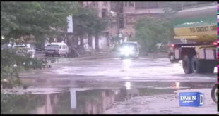 Heavy Rain & Thunderstorm In Karachi
