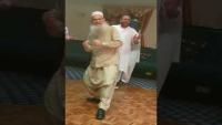 Baba Ji Having Time Of His Life