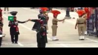 Parade At Wagah Border On 52nd Defence Day