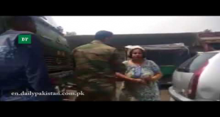 Woman Arrested For Slapping Indian Army Officer