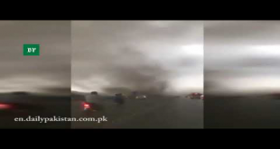 Mini Tornado Spotted In Islamabad