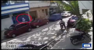 CCTV Footage Of Karachi Street Crime