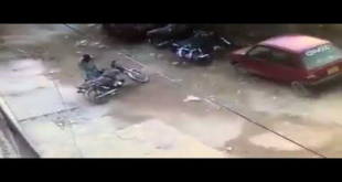 North Nazimabad Block-T Me Ek Nashaiye Ki Bike Churanay Ki Video Manzar e Aam Par Agye