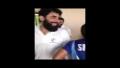 Misbah & Abdul Razzaq Playing Cricket In Dressing Room