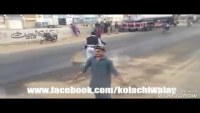 Courageous Act Of Responsibility By Traffic Constable To Safe Bike Riders