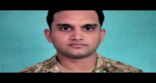 Capt. Hasnain Shaheed Body Arriving At His House