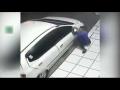 Thief Fails To Steal Cars Side Mirror